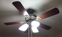 Amasco designer ceiling fan in excellent working