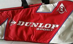 This is a used Dunlop Sunday golf bag, that is useful