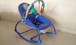 - Converts from an Infant Seat to a Toddler Rocker, fun