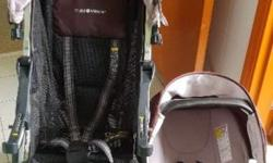 Car seat can be attached onto the stroller directly,