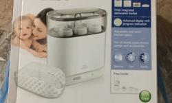 New Philips Avent 4-in-1 Electric Steam Sterilizer