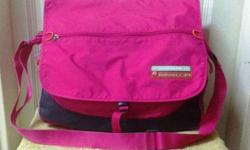 Spacious Pink Messenger Sling Bag by Ocean Pacific.