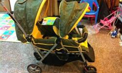 Preloved Twin Stroller at throw away price. Not for