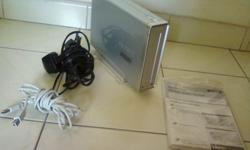 Sony external dvd writer complete with cables and
