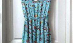 Sweet Floral Mint Dress. Size S. In good condition.