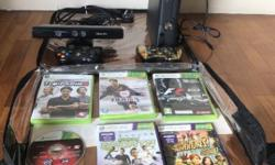 XBOX 360 BLACK CONSOLE WITH 250 GB HARD DISC (ORIGINAL