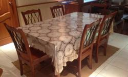 Hi There, Selling away my Solid Oak Wood dining Table
