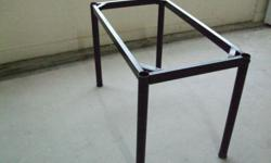 Solid Pine Wood table with Steel Frame and Leg in very