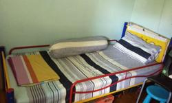 Solid Single Iron Bed Frame for sales (Mattress is
