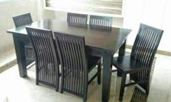 Table dimensions: 160cm x 90cm. Please arrange for your