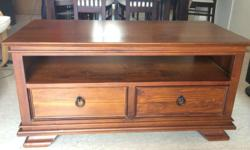 Expat leaving Singapore Sale� Solid Teak Wood Coffee