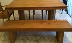 Solid Teak Wood Dining Table bought from Originals for