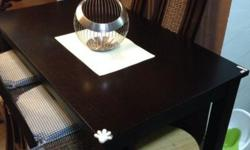 Solid Wood dining table very good condition in