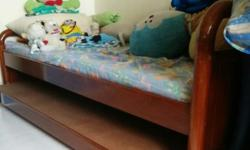 An used bed frame, good quality and condition. Solid