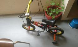Moving away and thus sell son's bicycle, it is in very