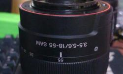 Sony 1855 Kit Lens, no rust dents dust, selling cause i