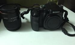 For Sale Sony A100 DSLR Camera with 18-55 Wide Lens and