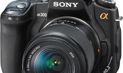 Sony Alpha DSLR A-300 in good working condition. Camera