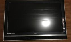 "Used Sony Bravia 40"" LCD TV (KLV-V40A10) for sale White"