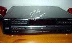 Sony CDP-CE315 5-CD Changer with remote , good working
