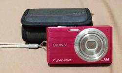 Hi there! I am selling a Sony Cybershot Camera DSC-W610