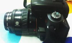 Sony DSLR A550 with Minolta Lens Still in very good