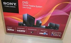 Sony DVD Home Theater System DAV-TZ140 Brand new in