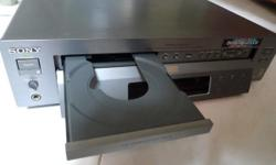 For sale: SONY DVP S-7000 DVD/CD/Video CD Player - With
