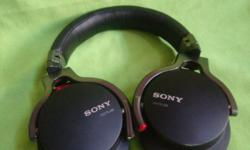 Hi, Have a good cond Sony headphone above. Seldom used.
