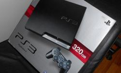 PS 3 slim console as shown in the image. Plus 2