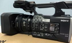 Sony PXW-X160 XDCAM Camcorder Bought November 2015
