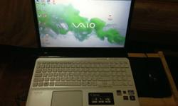 "Hi guys, Im selling my Sony Vaio 15.5"" White Color."