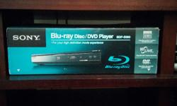 Selling a Sony BDP-S360 blu-ray player, purchased in