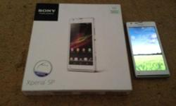 Selling my perfect condition white Sony Xperia SP full