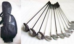 ~~~ SpaLDInG ComposiTe GoLF (RH)SeT wiF PreCePt Bag
