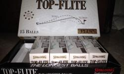 SPALDING Top-Flite Tour Trajectory PLUS II GOLF BALLS 4