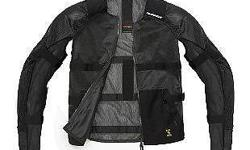 Spidi Airtech Armor Jacket. Lots of ventilation,