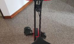 Used exercise bike for sale. Foldable and can carry.