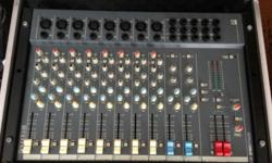 "8 Mono channels & 2 Stereo Channels 19"" Rack Mountable"