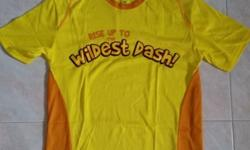 Sport Yellow Sleeve Top Size S Safari Zoo Run