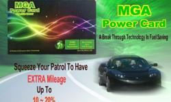 A break through technology in fuel saving! MGA power