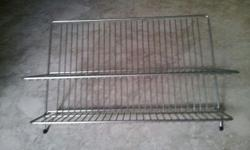 Brand new stainless steel dish rack (size : 38X33X20