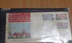 1967 National Day first day cover.Cash and carry at