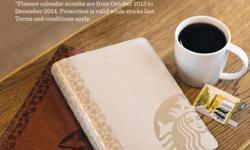 Selling off the latest Starbucks limited Edt Planner.