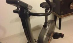 Abbi stationary upright bike in excellent condition