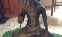Bronze Siva statue for sale Good condition, hight 16 ""
