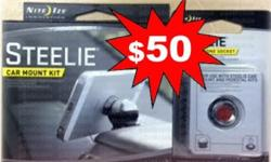 SG50 Promotion @$50 for two items! Steelie Car Mount