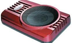 I am selling my Steelmate Underseat Sub woofer 8� (red)