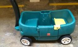 Preloved Step 2 wagon Space for 2 kids to enjoy the