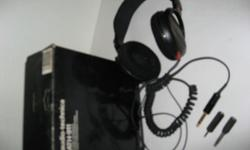 Dynamic Stereophones, made in Japan, not used before,